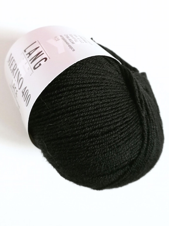 Merino 400 Lace 0004 black
