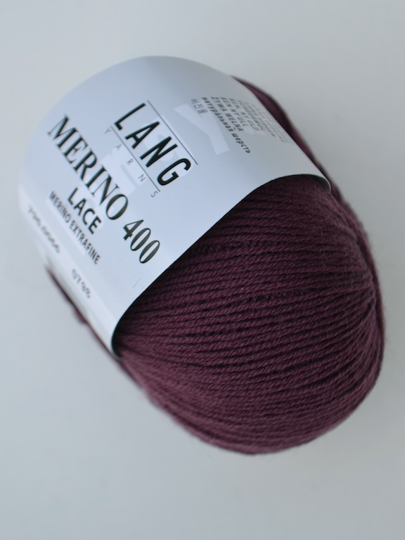 Merino 400 Lace 0066 bordeaux