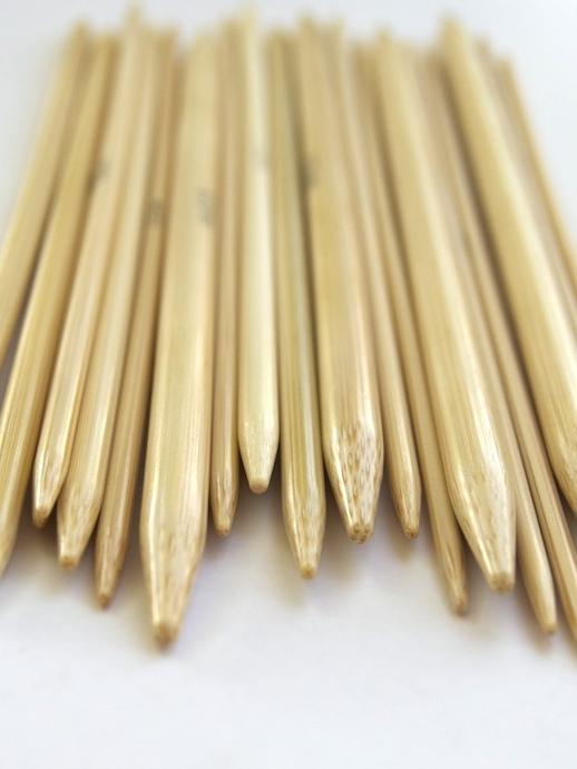 Bambus strumpstickor