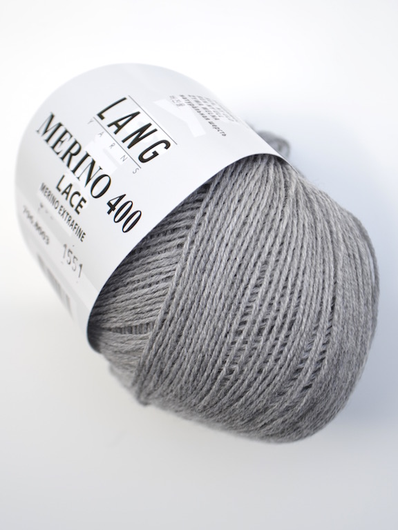 Merino 400 Lace 0003 light gray