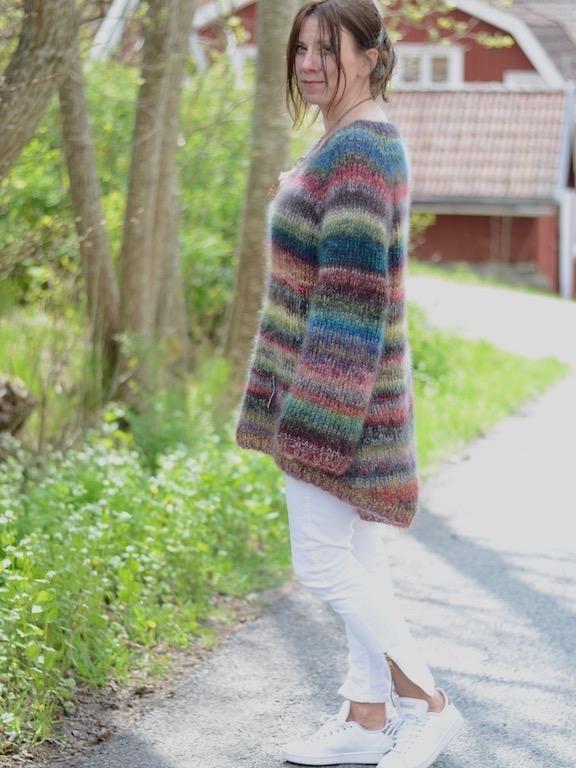 Valparaisosweater Design Mia Aarstrand