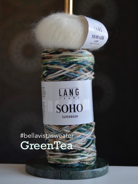 Bellavistasweater GreenTea