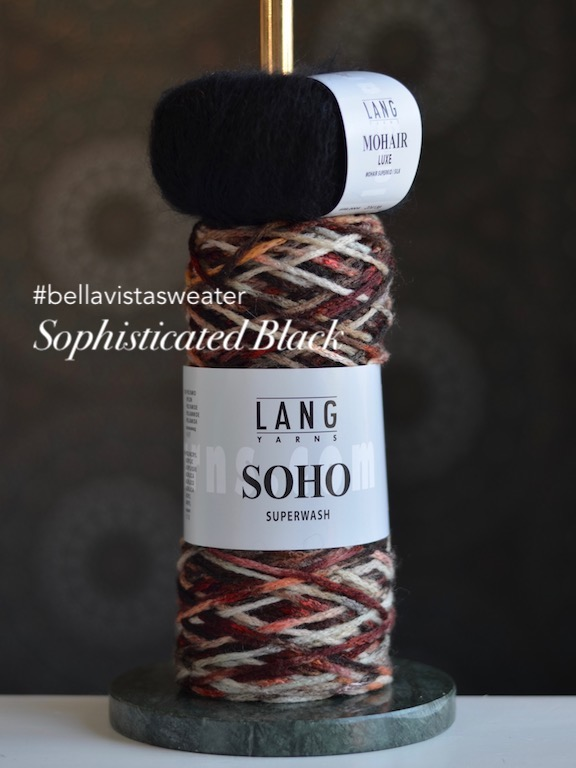 Bellavistasweater Kit Sophisticated Black