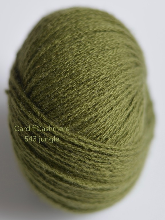 cardiff cashmere 543 JUNGLE