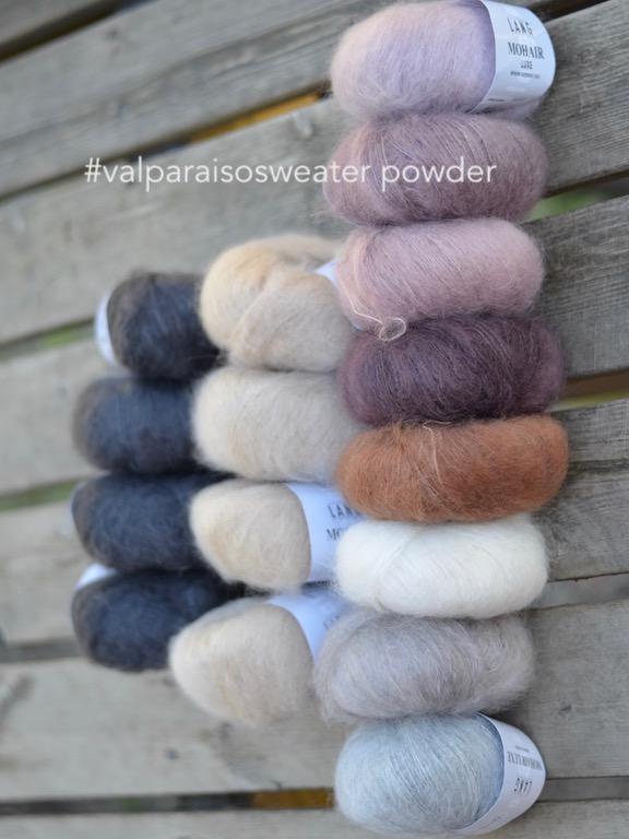 Valparaisosweater Powder