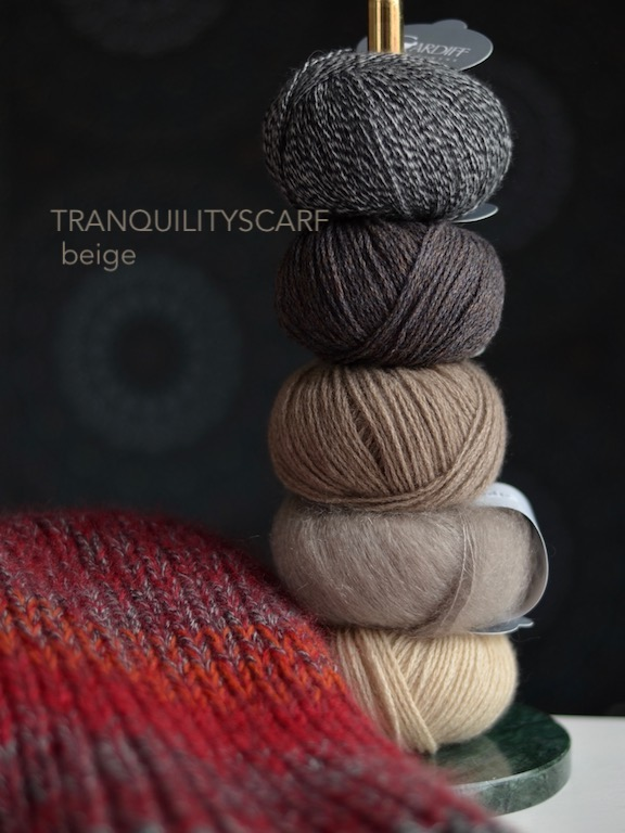 Tranquilityscarf Beige