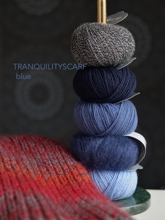 Tranquilityscarf Blue