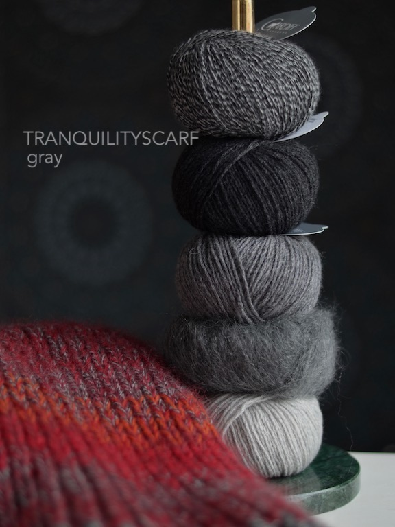 Tranquilityscarf Gray