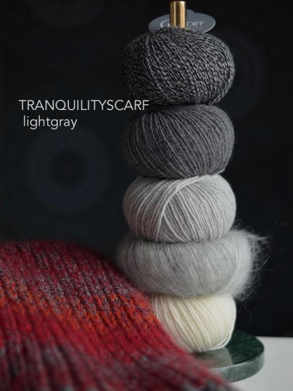 Tranquilityscarf Lightgray