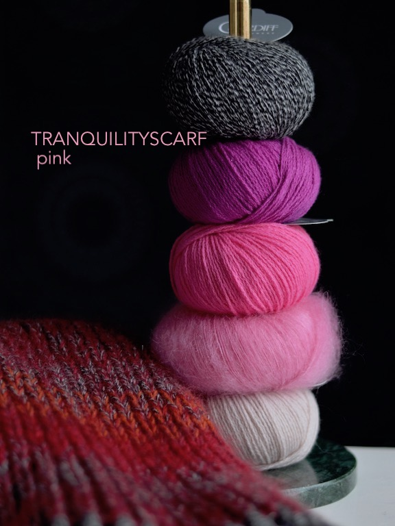 Tranquilityscarf Pink