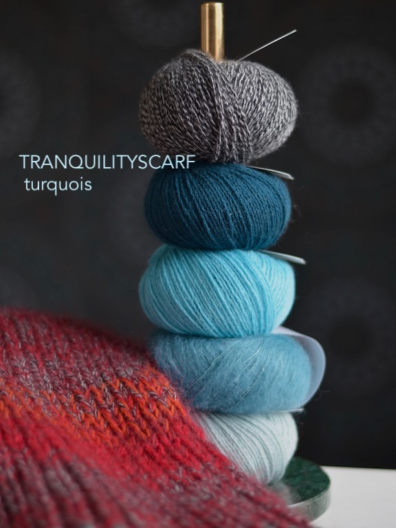 Tranquilityscarf Turquois