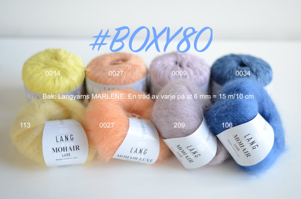boxy80 kombinationer