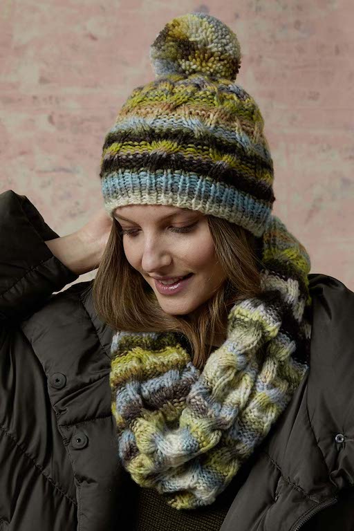 Cloud Knitted Hat 0013